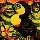 Toucan at Sunset by JacquelynsArt