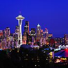 Seattle Skyline by Jennifer Hulbert-Hortman
