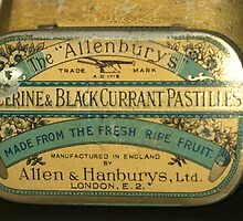 An old tin for what ales you.. by Larry Llewellyn