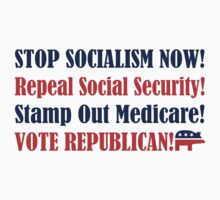 Stop Socialism by LarryGambon