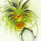 Dancing Petals by Deborah  Benoit