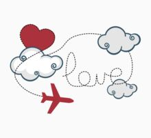 Love plane by EasyArt