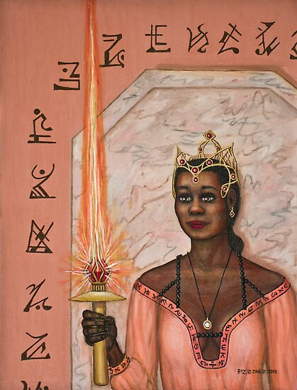 Queen  of Swords by Roz  Eve