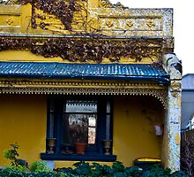 Yellow house - Kensington, Victoria by bvanmeeuwen