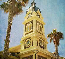 Town Hall Tower at Glenelg by Wendi Donaldson