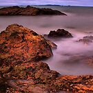 Yeppoon Rocks by John Vandeven