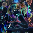 The Color Muse Inverted by artistjanebush