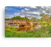Astico Park Bridge Metal Print