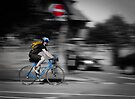 Speedy Cyclist by Shehan Fernando