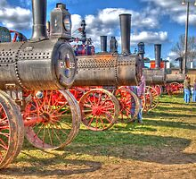 Steam Engine Line-up by ECH52