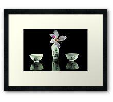 Sake Framed Print