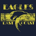 Retro Eagles Yellow by Eastcoasteagles