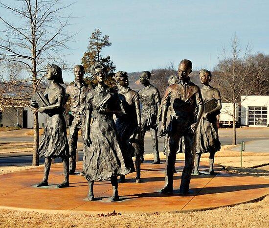 In Honor of Little Rock 9 by Joseph Rieg