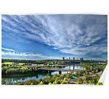 Edmonton Low Level Bridge and Valley Poster