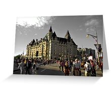 chateau laurier Greeting Card