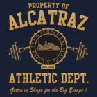 ALCATRAZ ATHLETIC DEPT. by GUS3141592