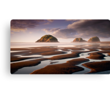 Sugar Loaf Islands, New Plymouth, NZ Canvas Print