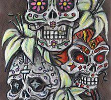 Los Tres Hermanos Muertos  by rawjawbone