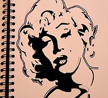 Marilyn Monroe by davidthomas85