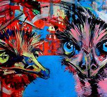 'Emu's, oug oug and ugh ugh.' by Cat Leonard