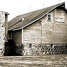 a barn...... by Lynne Prestebak