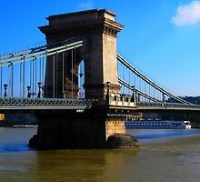 Budapest_Chain bridge and river Danube_version2_.Hungary_Europe.2010Sept by ambrusz