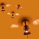 light bulb bees by MelliCaster