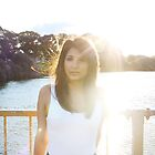 Zareen at Sunset by foxxjane