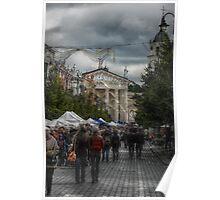 2010 09 04 Vilnius 6, Celebration street Poster