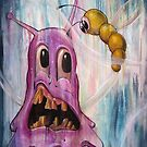 The blob and the worm by matttruiano