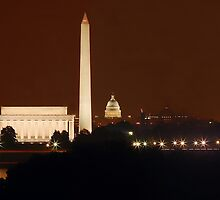 Washington DC - Monuments by bkphoto