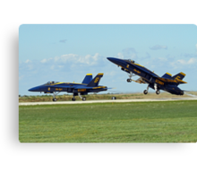 Blue Angels Lift-Off Canvas Print