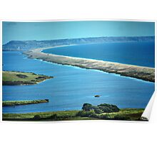 Chesil Beach-A Birds Eye View! Poster