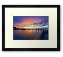 Mahon Pool Sunrise II Framed Print