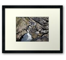 Colors of the Gorge Framed Print