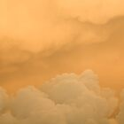 Orange clouds by PeterDamo