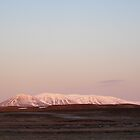 Snow capped volcano by pljvv