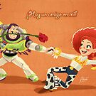 El Buzzo y Jessie by AmberDust