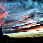 All Saints Sunset by Karen Martin