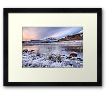 Blaven in Winter Light, Isle of Skye. Scotland. Framed Print
