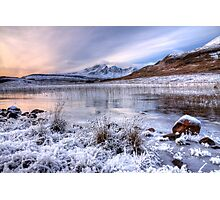 Blaven in Winter Light, Isle of Skye. Scotland. Photographic Print