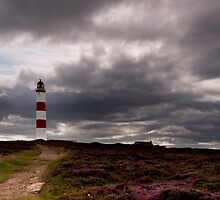 A light in the darkness: Tarbet Ness, by Portmahomack, Scotland by Michael Marten