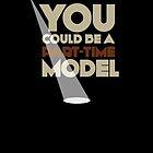 Part-time model       poster by Naf4d