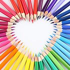 colored pencil love by luigi diamanti