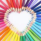 colored pencil love by luigi diamanti