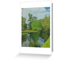 Capability Green (cards) Greeting Card