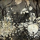 apple branch by Tepa Lahtinen