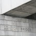 London Bridge.... it's Pouring Down! by ellismorleyphto