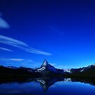 Matterhorn Midnight Reflection by Dominic Kamp