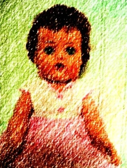 "My 1956 ""Tiny Tears"" Doll by Deborah Lazarus"
